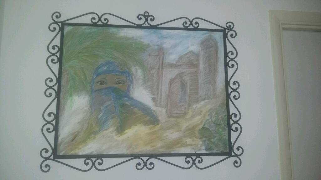 Hand painted pictures