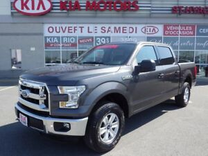2015 Ford F-150 XLT SUPERCREW 4X4 3.5L