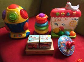 Beloved toys for a little child