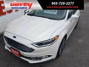 2017 Ford Fusion SE ALL WHEEL DRIVE, SUNROOF, LEATHER INTERIOR