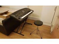Yamaha PSR - 8000 Keyboard + Stand + Stool