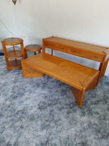 4 piece coffee table