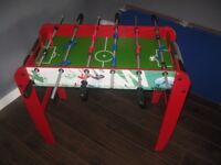 Table Soccer ideal for kids 48cm wide by 92cm long
