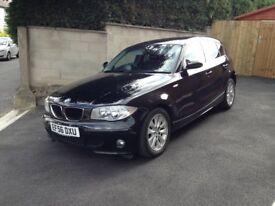 BMW 1 Series 2.0 120D SE - 5 DOOR - BLACK