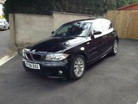 BMW 1 Series 2.0 120D SE - 5 DOOR - BLACK