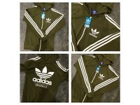 Brand New With Tags Ladies Adidas Trackies Khaki £30
