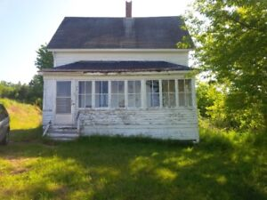REDUCED FOR SALE OLDER HOME BASS RIVER, COLCHESTER COUNTY, NS