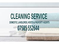 Cleaner available for Domestic, Short term lets & small offices.