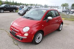2015 Fiat 500 Lounge - Leather  Sunroof  Bluetooth  Heated Seats