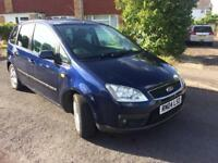 BARGAIN Ford Focus C-Max Zetec. Very low mileage. Great mechanical condition.