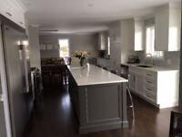 Armoires de cuisine sur mesure / Custom kitchen cabinets