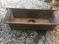 Reclaimed Cast iron hopper drain