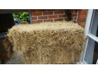 10 hay bales for wedding seating