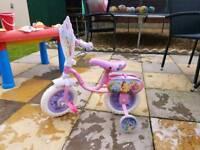 Disney princess 2 in 1 bike and balance bike