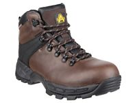 Lightweigth Composite Toe Saftey Boots (Not Seel Toecap) Waterproof & Memory Foam Comfort Footbed