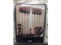 Dunelm curtains eyelet lined 90inch wide 72 drop ne