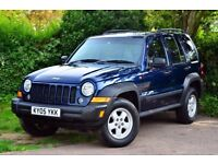 Jeep Cherokee KJ 4x4, 2,8CRD Diesel, Manual, Long MOT