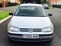 AUTOMATIC VW GOLF MATCH 5 DOOR HATCHBACK PETROL 1.6