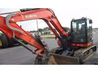 KUBOTA KX SERIES K080-4 ANGLE BLADE