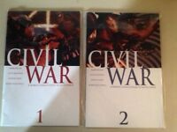 Marvel's Civil War Comics #1-5