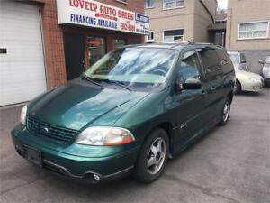 2002 Ford Windstar Sport  WITH WHEEL CHAIR RAMP