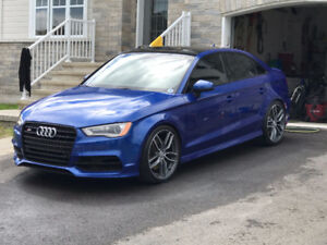 2016 Audi S3 Bleu Sepang(rare), Black Optics, Magnetic Ride