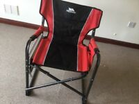 Trespass camping or outdoor chair for sale