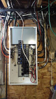 100,125 200 amp service upgrade / master electrician