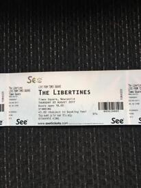 The Libertines - Newcastle 3/8/17 x4