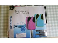 Girls Swim Jacket 4-5 years