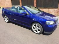 Convertible Vauxhall Astra - Low mileage and 11 month MOT - nice car!