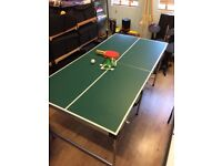 5 foot table tennis table