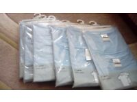 Twin pack Blue T shirts