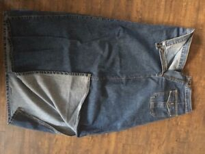 Long denim skirt in perfect condition size 14