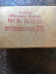 McDonnell & Miller 3-wire Mercury Switch (SA-150-124)