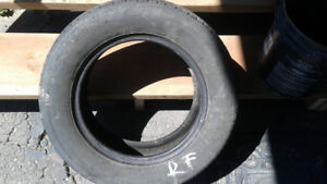 only one used tire touring p205/65r15 92 m&s