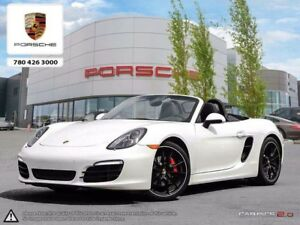 2015 Porsche Boxster Local Edmonton Vehicle with only 12,000km