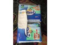 2 packs of toddler nappies size 16 kg plus brand new 7 packs available