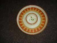 Large Ceramic Chip & Dip Party Server Dish