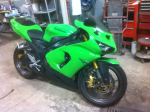 Motorcycle Collision Repairs, Insur. Claims & Custom Body Work