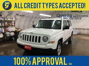 2011 Jeep Patriot NORTH*4WD*KEYLESS ENTRY*ALLOYS*CLIMATE CONTROL