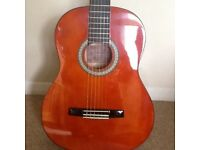 Acoustic guitar for sale. Full size metal stringed guitar. Lack of use forces sale.