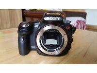 Sony Alpha 35 camera (for spares)