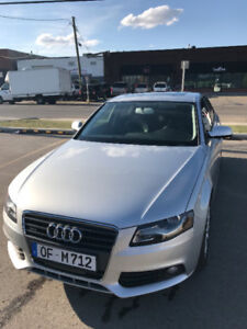 2012 AUDI A4 2.0T Quattro – VERY LOW MILEAGE – 0 ACCIDENTS