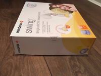 BRAND NEW UNOPENED - Medela Swing Electric Breast Pump, Pump & Save Bags and Spare Teats