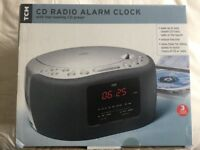 Bedside CD/Radio/Alarm clock