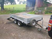 Bateson dropside trailer twin axle 2T 9x5 with ramps