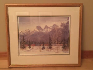Marilyn Kinsella Painting Framed