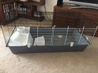 Indoor rabbit/small pet cage & accessories