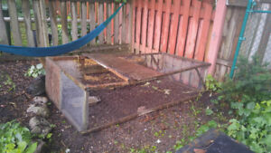 Free cage for chickens, rabbits etc